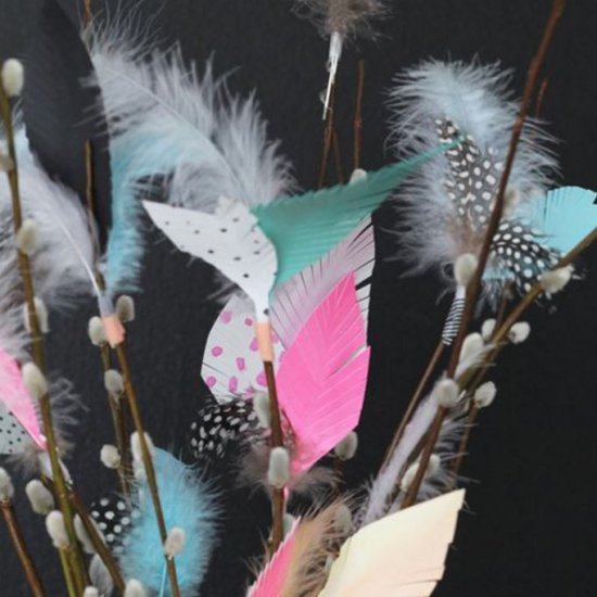 Feather/Paper creations