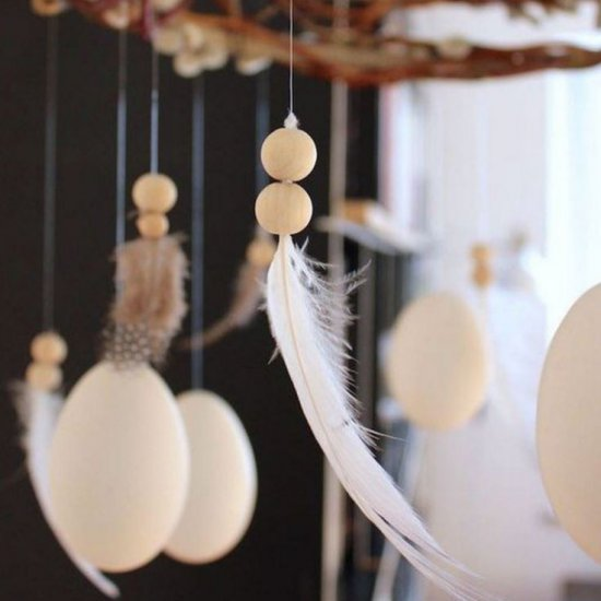 Hanging deco elements